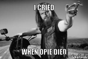 Opie Death