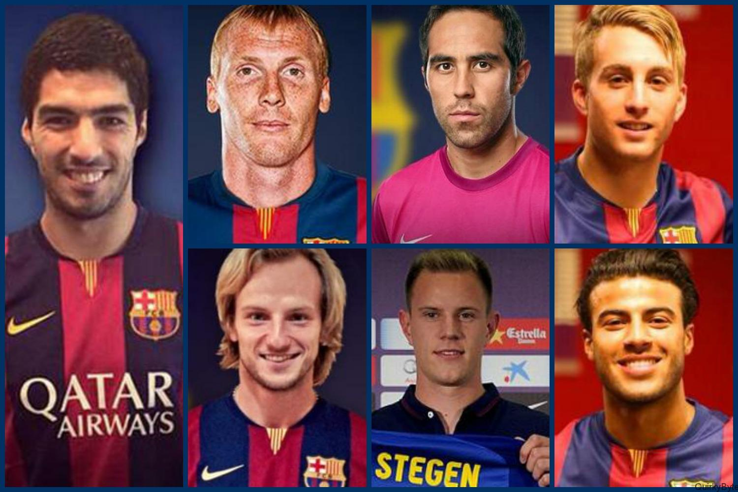 7 signings by Barcelona rated this season