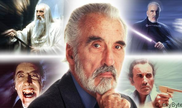 Great Roles played by Sir Christopher Lee