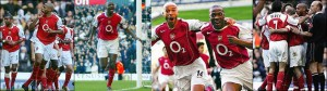 THE LAST EDITION OF THE 'BARCLAYS' PREMIER LEAGUE: ARSENAL