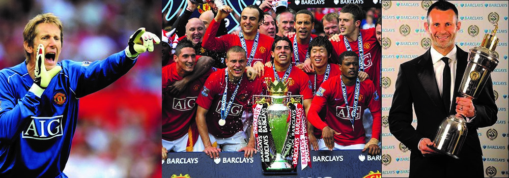 Photo of The Last Edition of the 'BARCLAYS' PREMIER LEAGUE: Manchester United