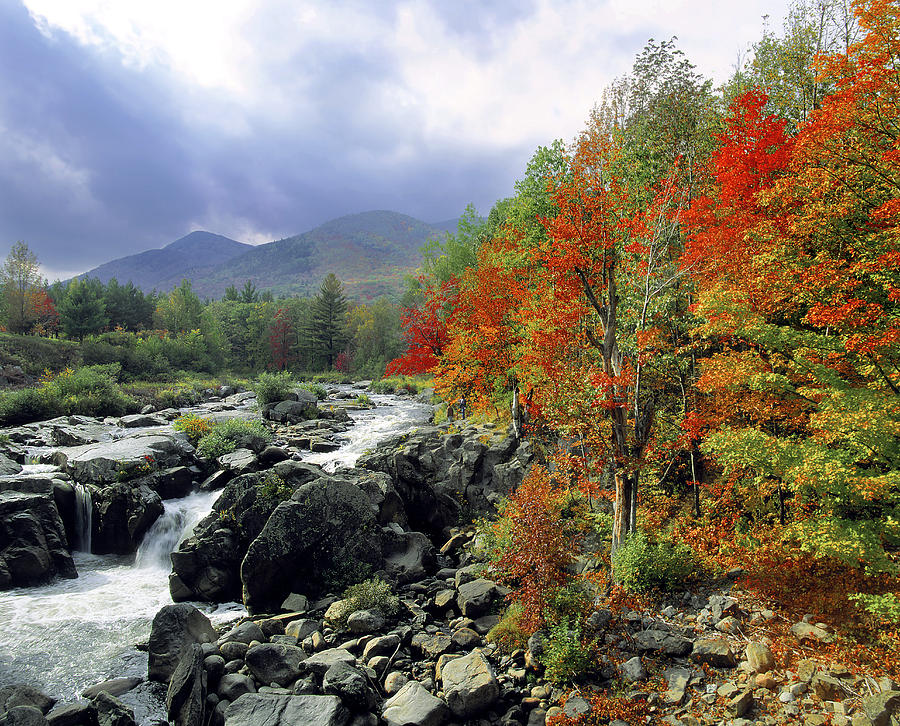 Photo of 4 Seasons in the Adirondack Mountains, New York