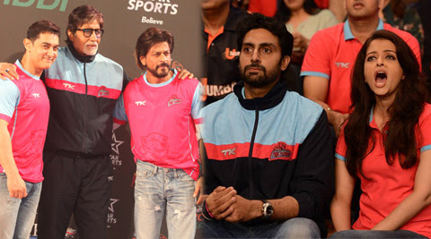 The enthusiastic Bollywood during PKL 2014