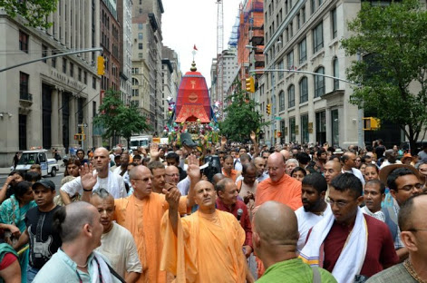 Rath Yatra in New York