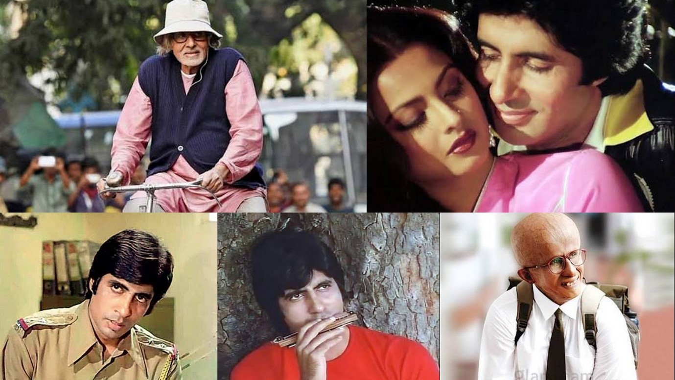 "Photo of ""Rishte mei toh hum tumhare baap hote hain, naam hai Shahenshah"" – Happy Birthday Bachchan Style."