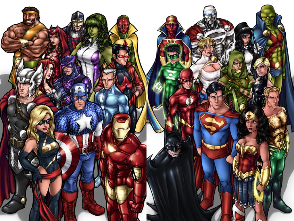 Photo of 2 Most Powerful Superheroes. They are basically Gods. One from Marvel, other from DC. Who wins among them?