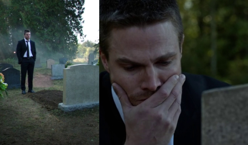 Photo of Arrow Season 4: Who is in the Grave?