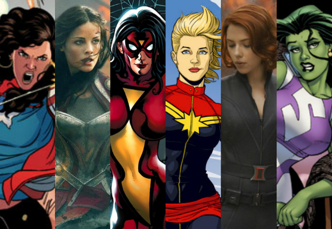 female superheroes