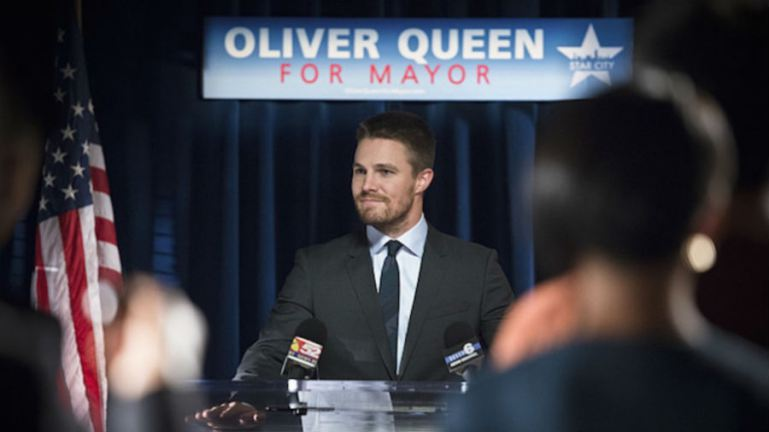 Photo of Arrow Season 4: Oliver Queen running for Mayor