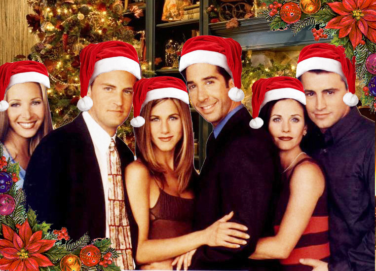 Photo of CHRISTMAS and F.R.I.E.N.D.S.