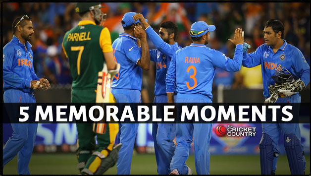 Photo of 5 Memorable Cricket Moments from 2015