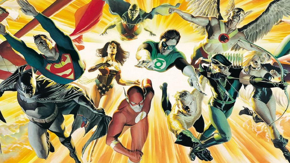 Photo of JUSTICE LEAGUE Concept Art Revealed!!!