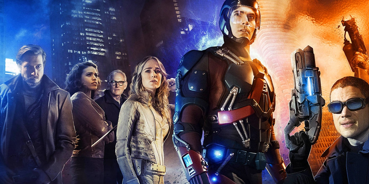 Photo of Legends of Tomorrow: Connor Hawke and One-armed Oliver Queen