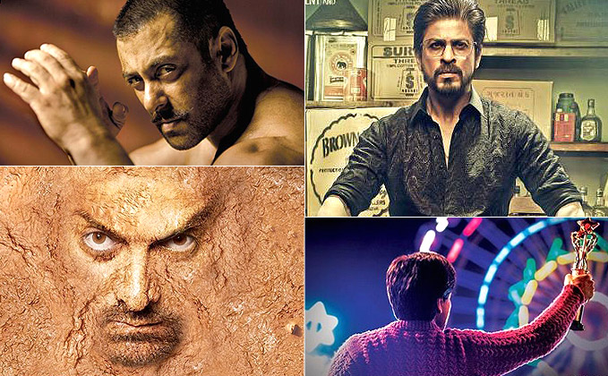 Photo of Shah Rukh's 'Raees' vs Salman's 'Sutan' vs Aamir's 'Dangal'