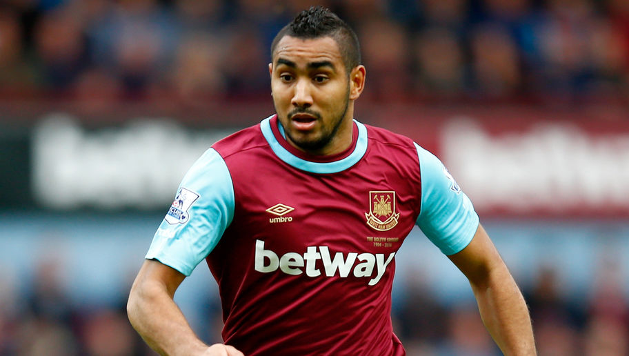 LONDON, ENGLAND - OCTOBER 24: Dimitri Payet of West Ham United during the Barclays Premier League match between West Ham United and Chelsea at Boleyn Ground on October 24, 2015 in London, England. (Photo by Clive Rose/Getty Images)