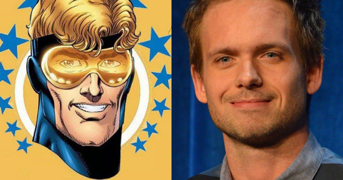Photo of Patrick J. Adams is set to don a different suit in Legends of Tomorrow