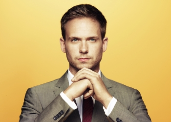 """USA CORPORATE -- """"USA Network Upfront 2013 Talent Portraits"""" -- Pictured: Patrick J. Adams from Suits -- (Photo by: Jill Greenberg/USA Network)"""