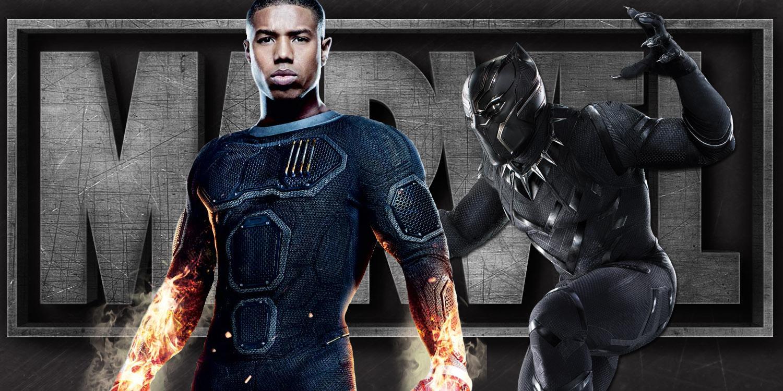 Photo of Michael B. Jordan Enters Into the Black Panther Universe