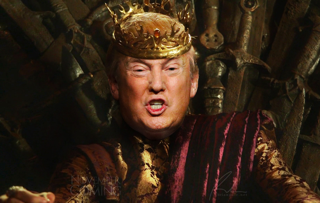Photo of Will Donald Trump Act Like Mad King of Westeros in the White House?