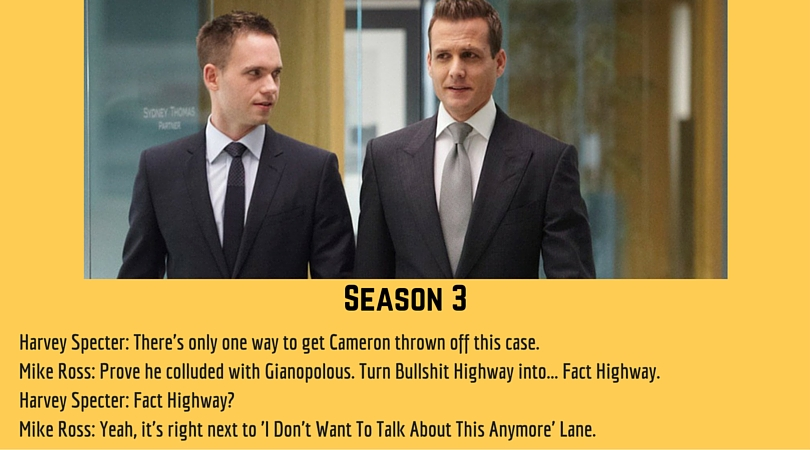 7 times mike ross stunned harvey specter in a conversation