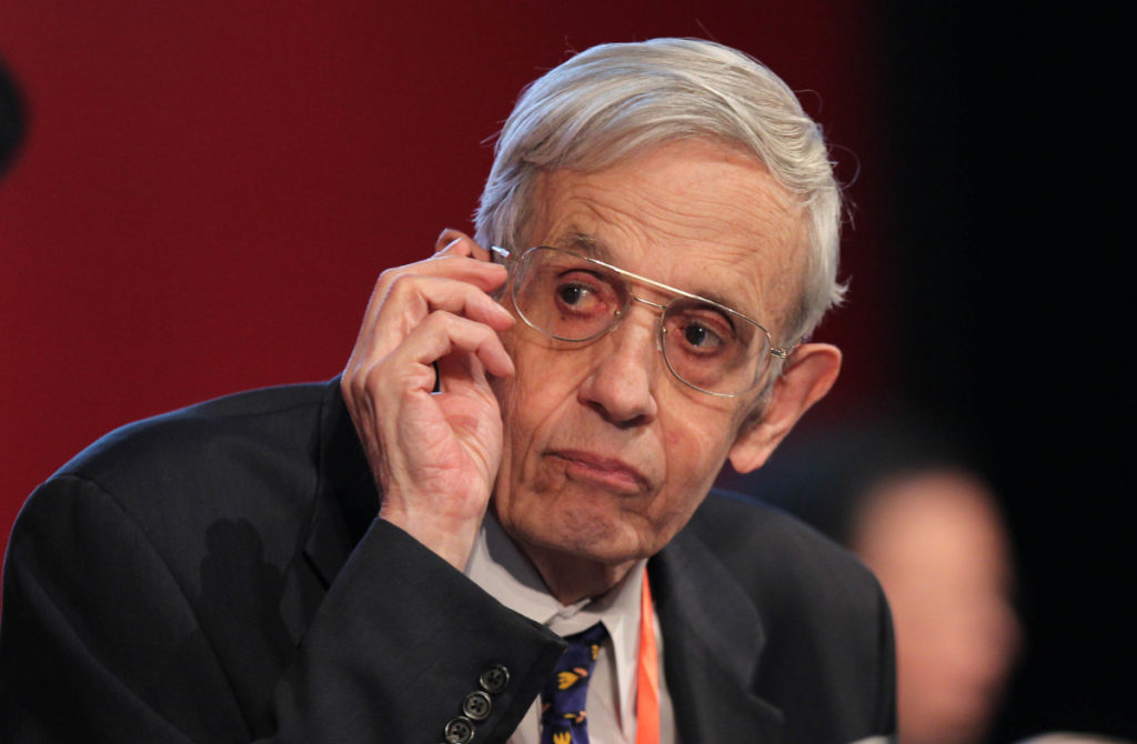 a biography of john forbes nash jr an american mathematician John forbes nash jr  john nash, the mathematician whose incredible life and alicia nash, 82, were in a taxi in the american state of new jersey when the.
