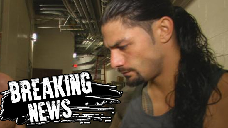 Photo of Roman Reigns suspended