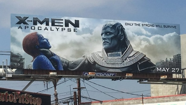 Photo of Fox Apologizes For Controversial X-Men: Apocalypse Billboard