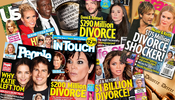 Photo of 10 Celebrity Divorces – Could it get messier than this?