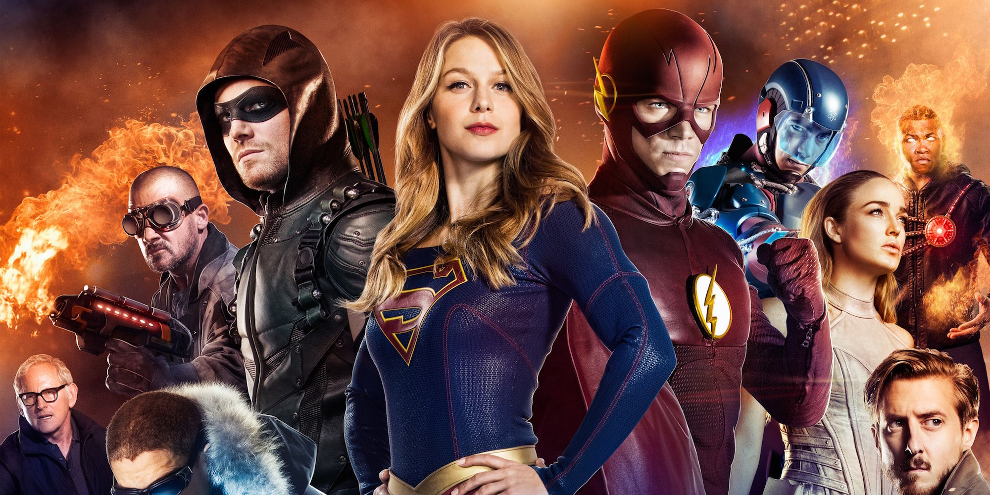 Photo of CW Mega Crossover of Superhero Shows: Here's What You Need to Know!