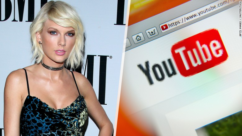 Photo of Taylor Swift Declares War against YouTube