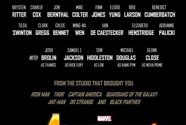 Avengers Infinity War Cast Here S What We Know Till Now