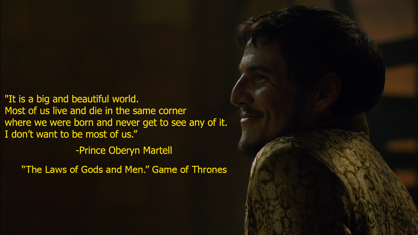15 Astounding Game of Thrones Quotes - QuirkyByte