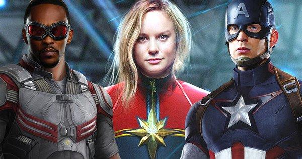 captain marvel et captain america