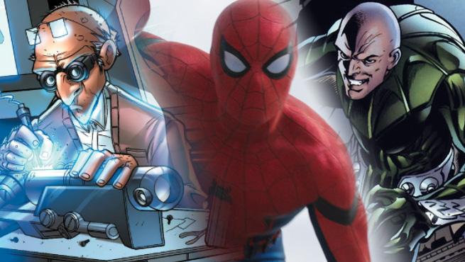 Spiderman Homecoming Villains