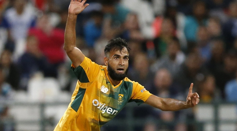 Cricket - Australia v South Africa - T20 International - Newlands Stadium, Cape Town, South Africa - 9/3/2016 South Africa's Imran Tahir unsuccessfully appeals. REUTERS/Mike Hutchings