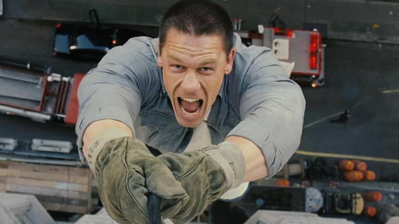 John Cena hanging 12 Rounds
