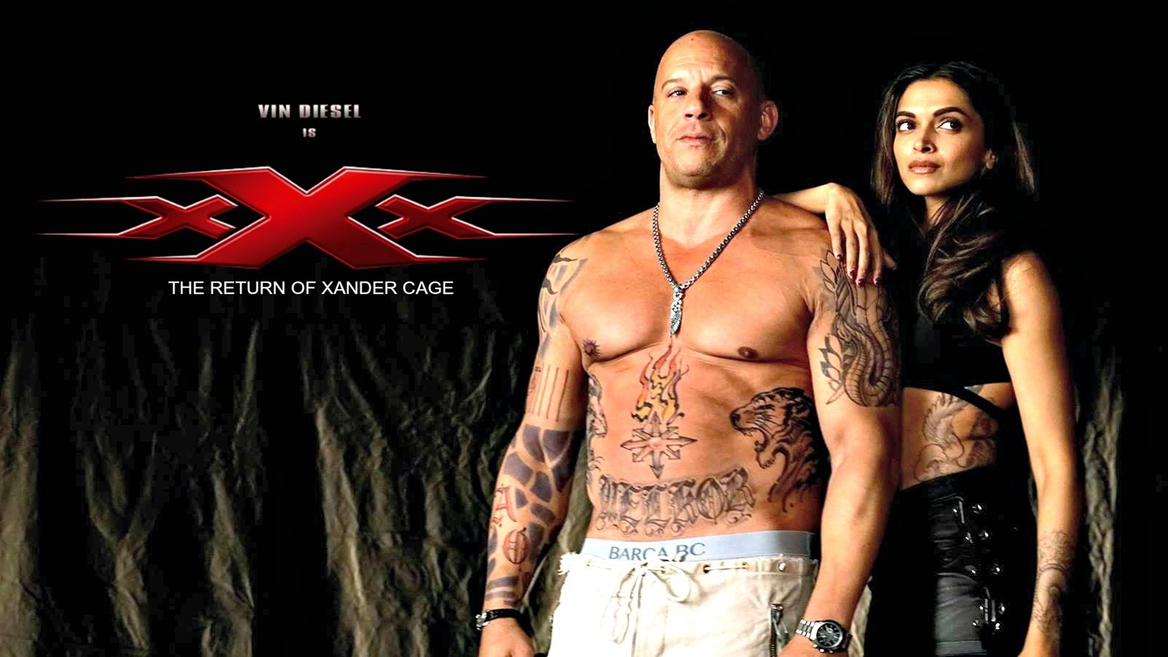 XXX: Return of Xander Cage vin diesel
