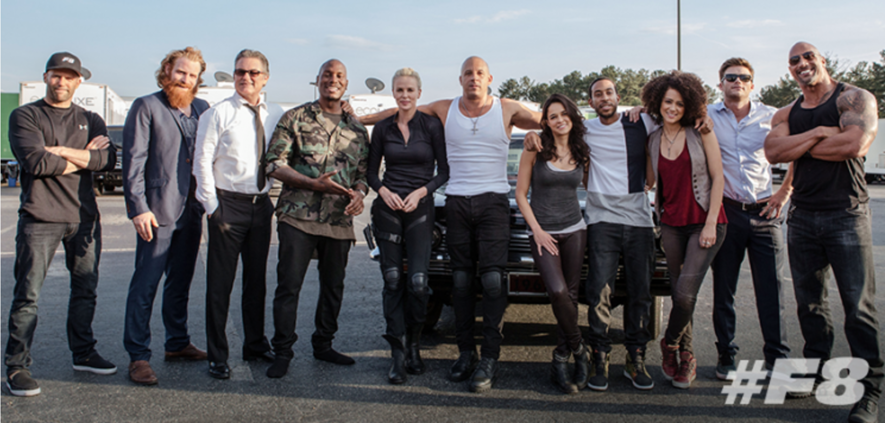 Photo of Fast 8 Cast Shares 'Happy' Post Amid Vin and Dwayne Feud