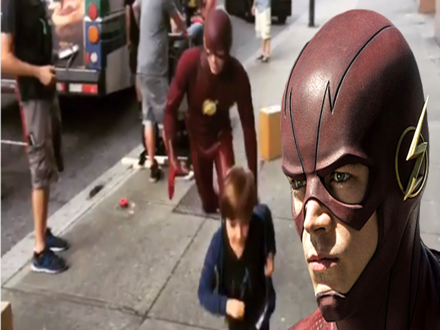 fastest man alive grant gustin the flash