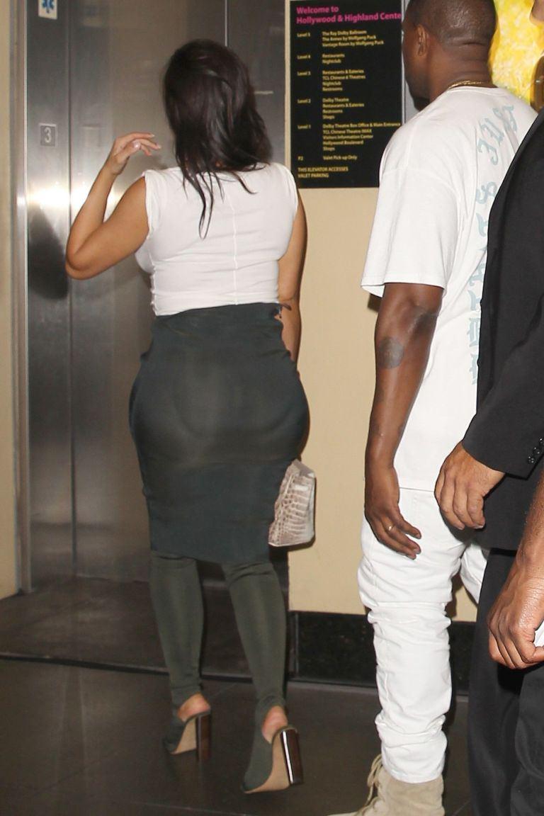 Butt Mystery Kim Kardashian Gets Butt Injections  - Quirkybyte-7366