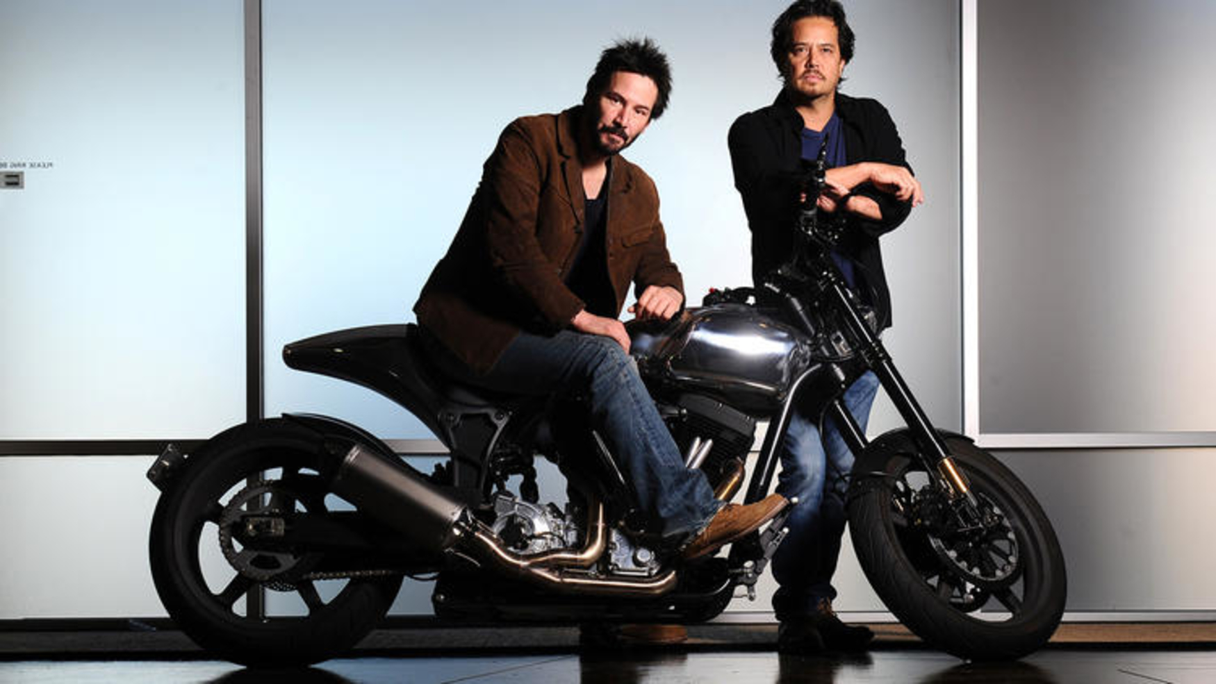 Photo of Keanu Reeves co-founded Arch Motorcycles