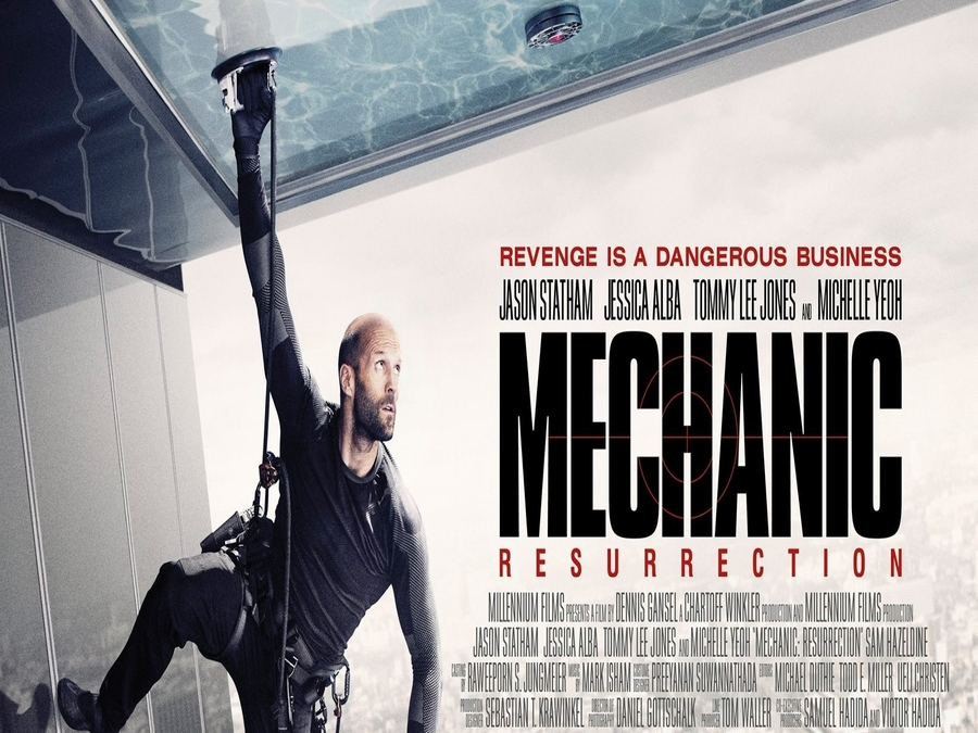 Photo of Mechanic Resurrection Movie Review