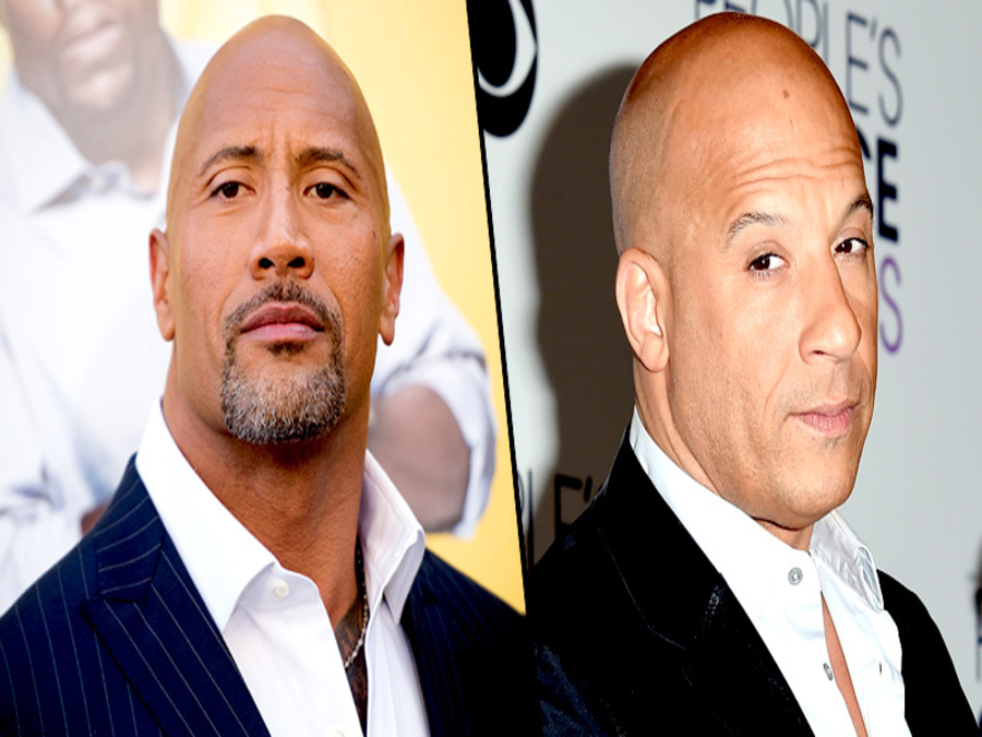 Photo of Vin Diesel and Dwayne Johnson's Feud A Publicity Stunt?