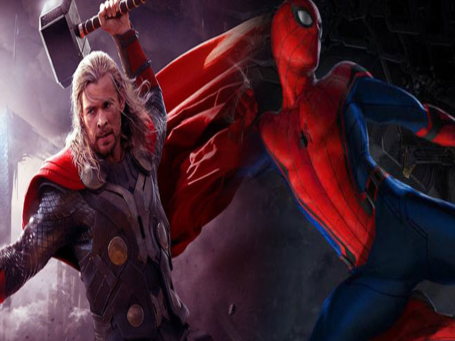 Photo of Spiderman Challenges Thor To A Stunt Off