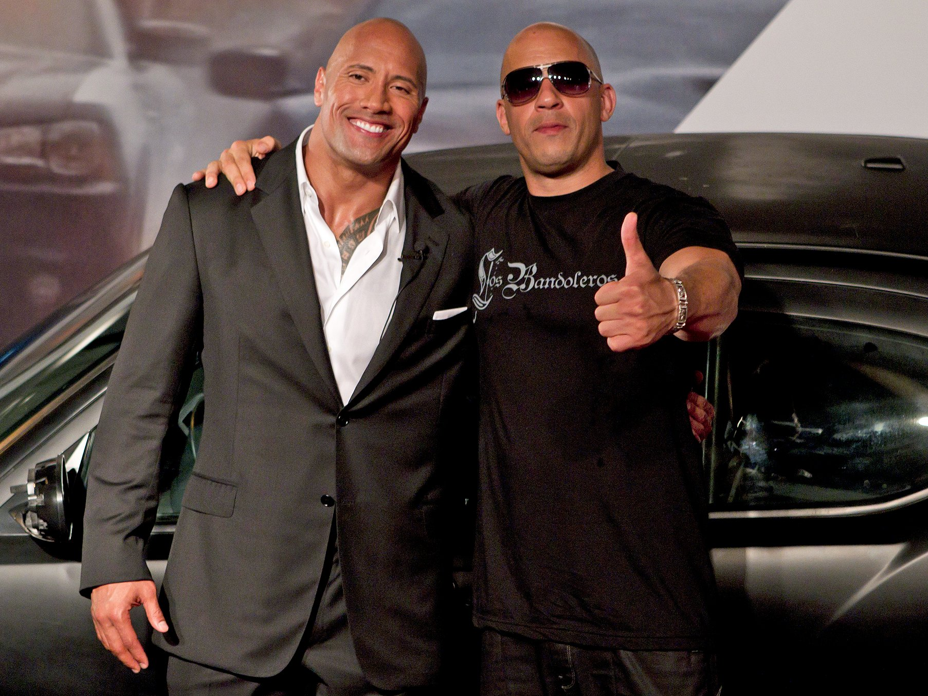 Photo of Vin Diesel Says Dwayne Johnson 'Shines' In Fast 8
