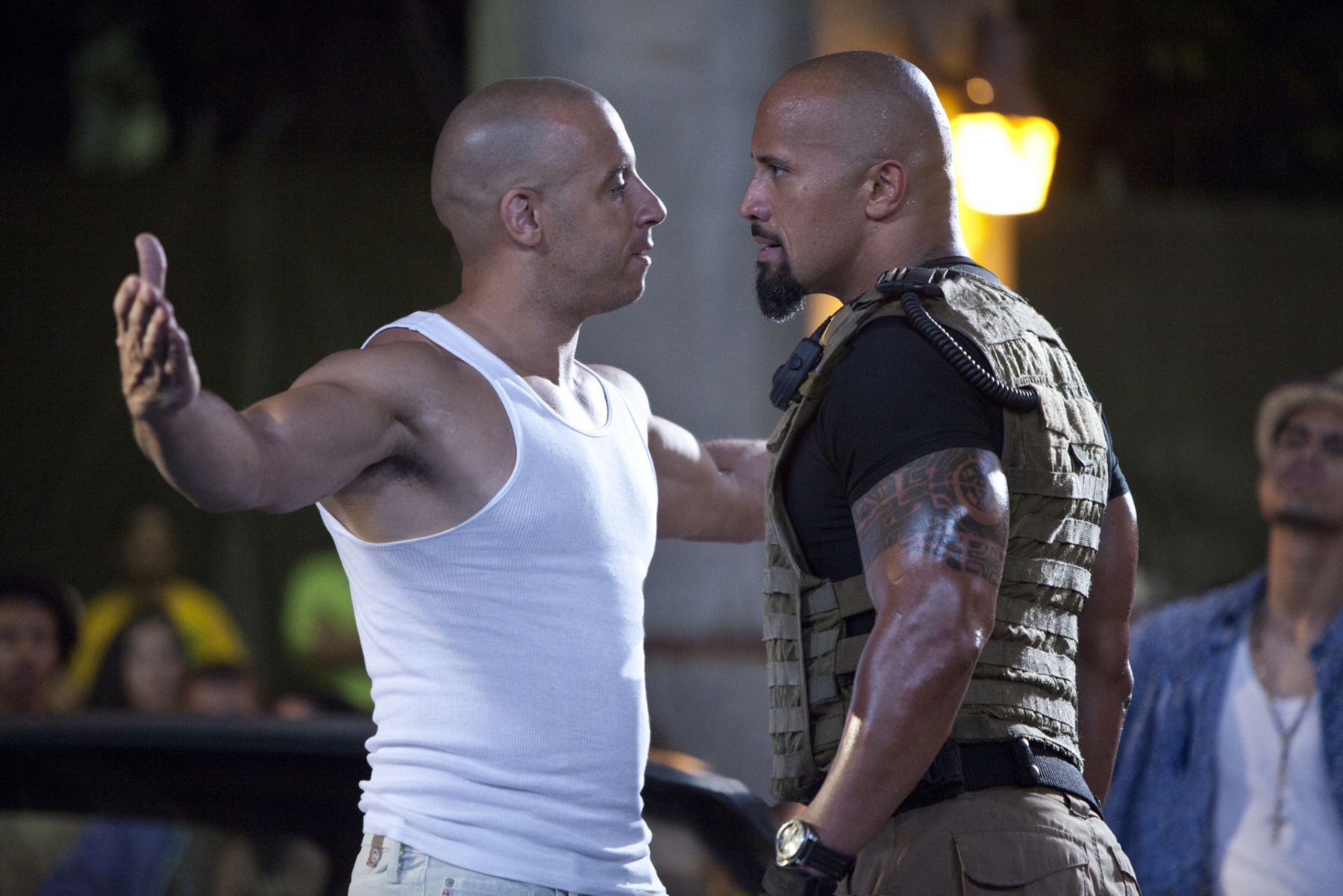 Photo of Dwayne 'Fast and Furious' over Vin Diesel