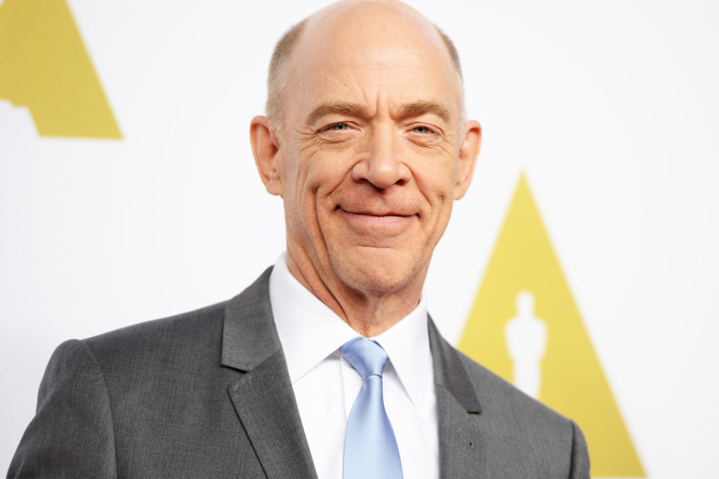 Actor J.K. Simmons arrives for the Oscars Nominees' Luncheon hosted by the Academy of Motion Picture Arts and Sciences, February 2, 2015 at the Beverly Hilton Hotel in Beverly Hills, California. The 87th Oscars will take place in Hollywood, California February 22, 2015. AFP PHOTO / ROBYN BECKROBYN BECK/AFP/Getty Images