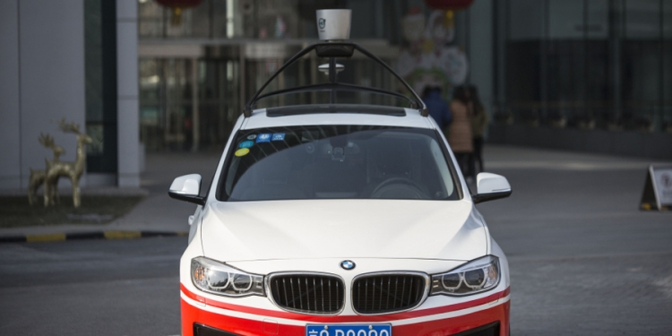 driverless car baidu