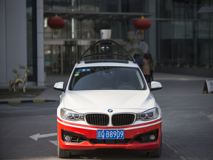 "Photo of The ""Google of China"" Enters Driverless Car Segment in a Big Way"
