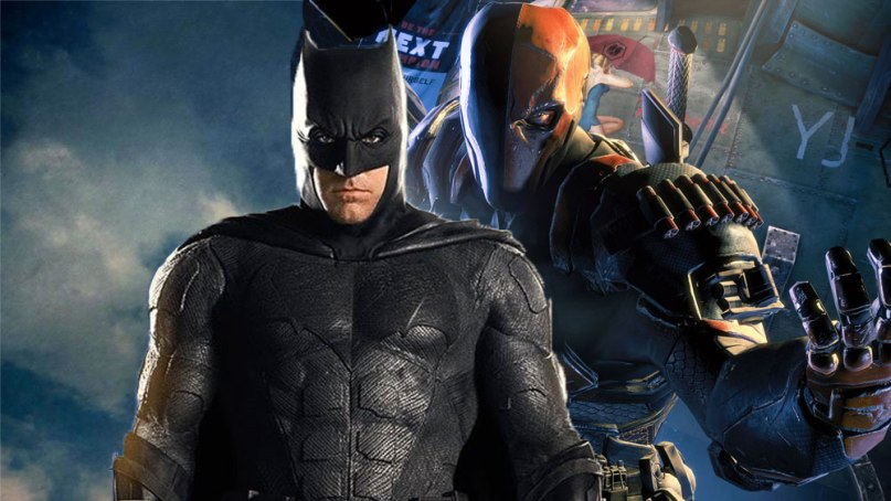 Photo of Deathstroke Actor Indicates Storyline For Batman Solo Movie